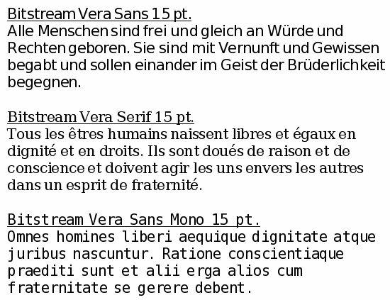 Unicode font guide for freelibre open source operating systems for greater coverage see the dejavu fonts in the latin greek and cyrillic section below vera sample altavistaventures Gallery